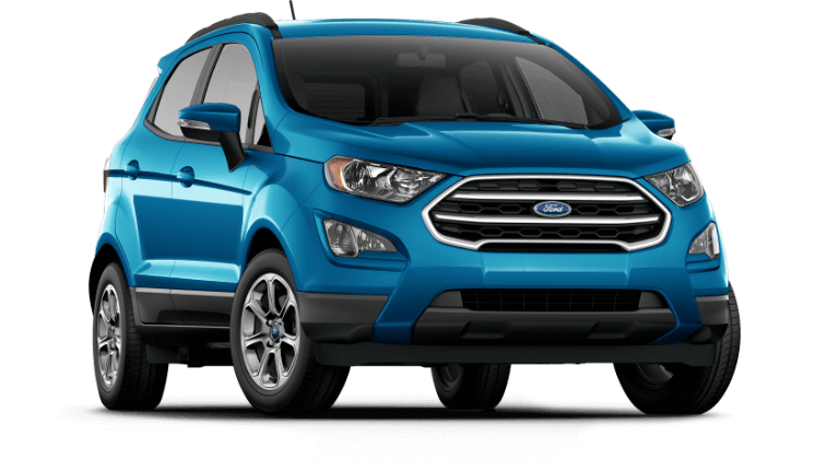 2020 Ford EcoSport SE - Blue Candy