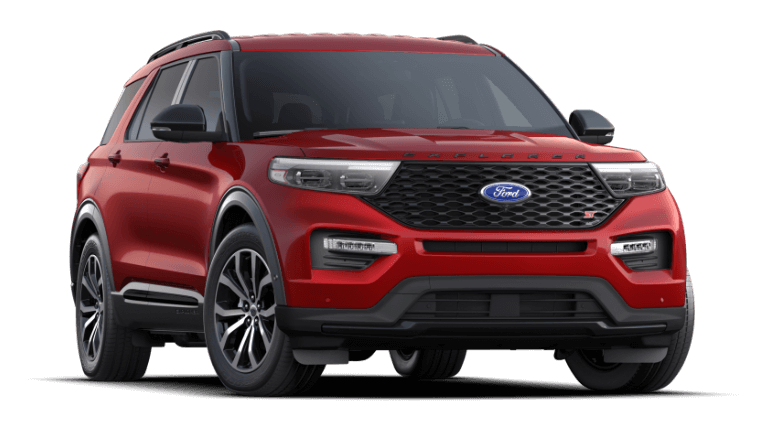2021 Ford Explorer ST - Rapid Red