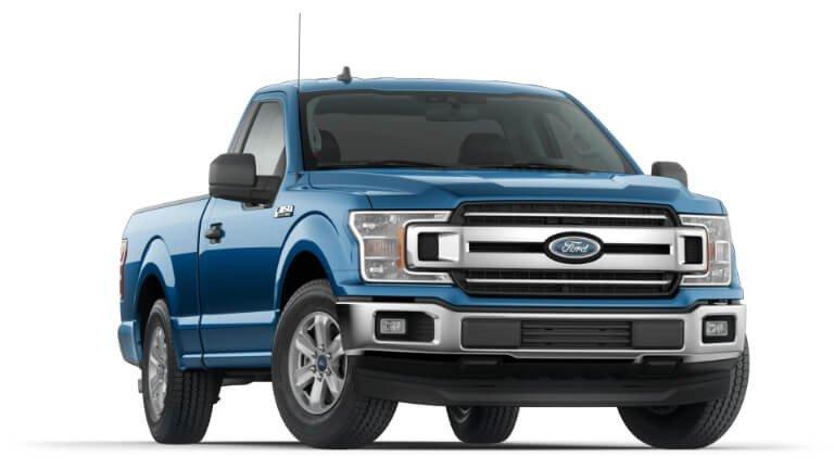 2020 Ford F-150 XLT - Blue