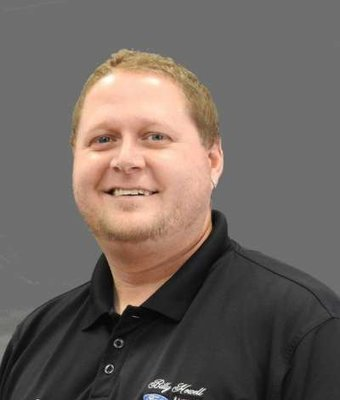 Detail Manager Justin Murphey in Sales at Billy Howell Ford Lincoln