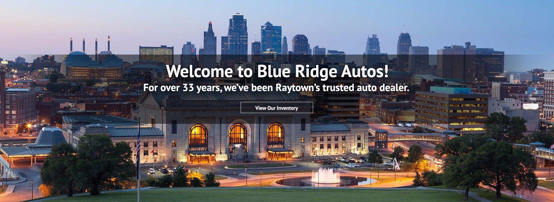 Kansas City - Welcome to Blue Ridge Autos
