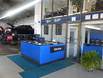 Check out our service department