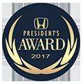 2017 Honda President's Award