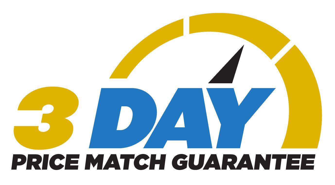 honda dealership 3 day price match guarantee logo