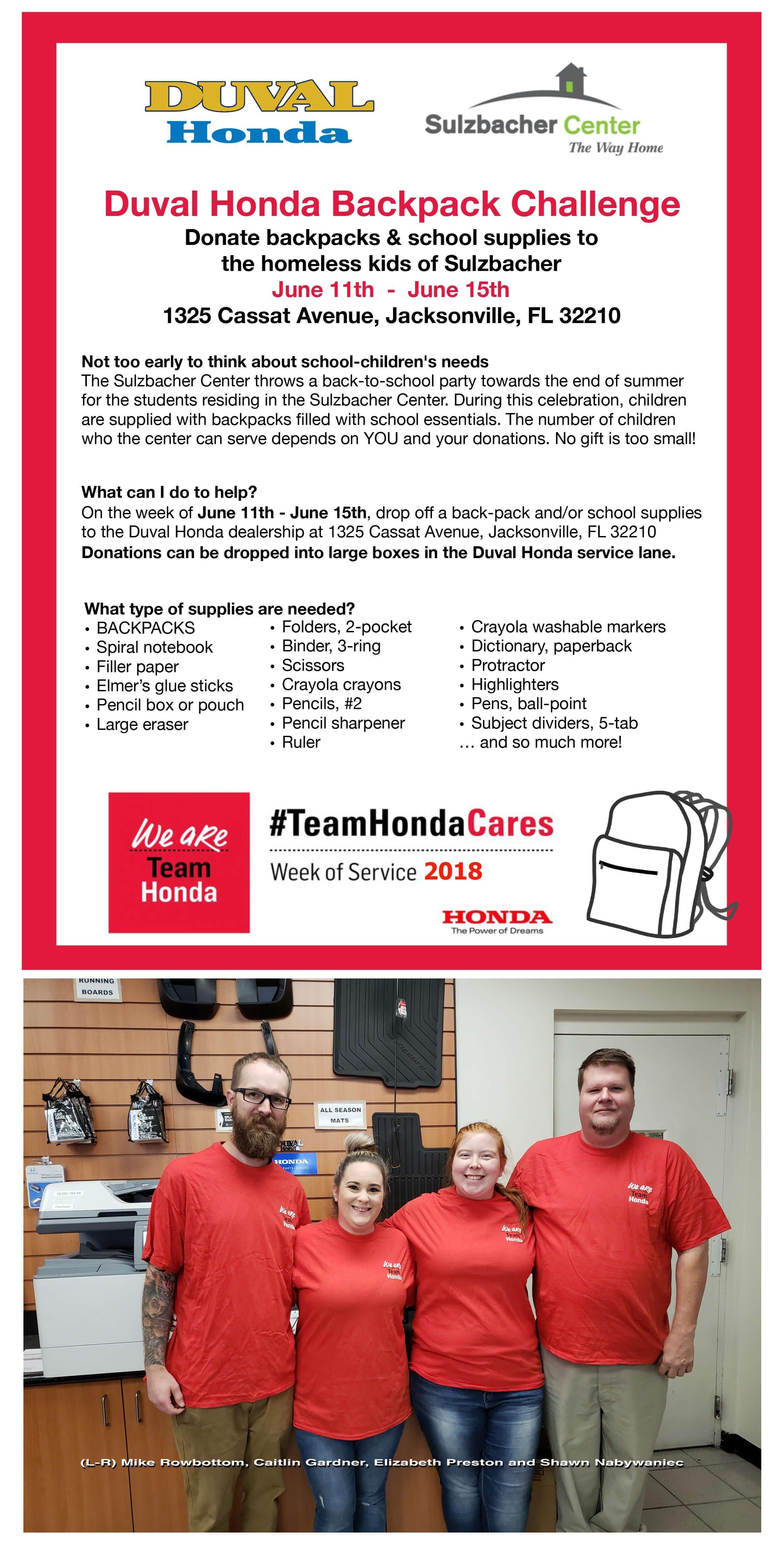 Duval Honda Community