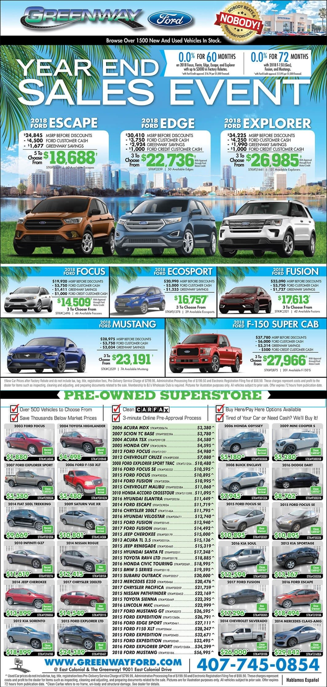 Orlando Sentinel Ad