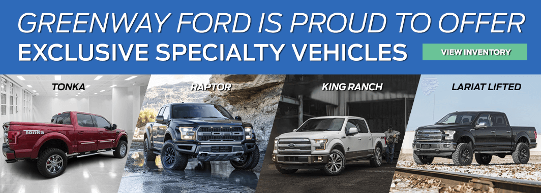 list of exclusive specialty ford vehicles for sale