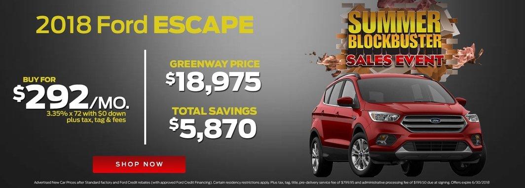 2018 Ford Escape for Sale in Orlando