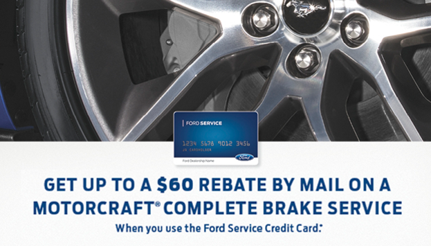 $60 Brake Rebate