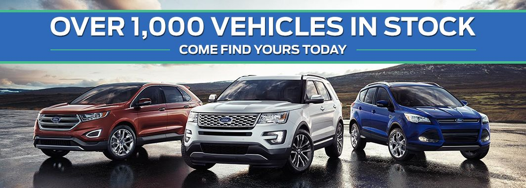 Over 1,000 vehicles for sale here at Greenway Ford in Orlando