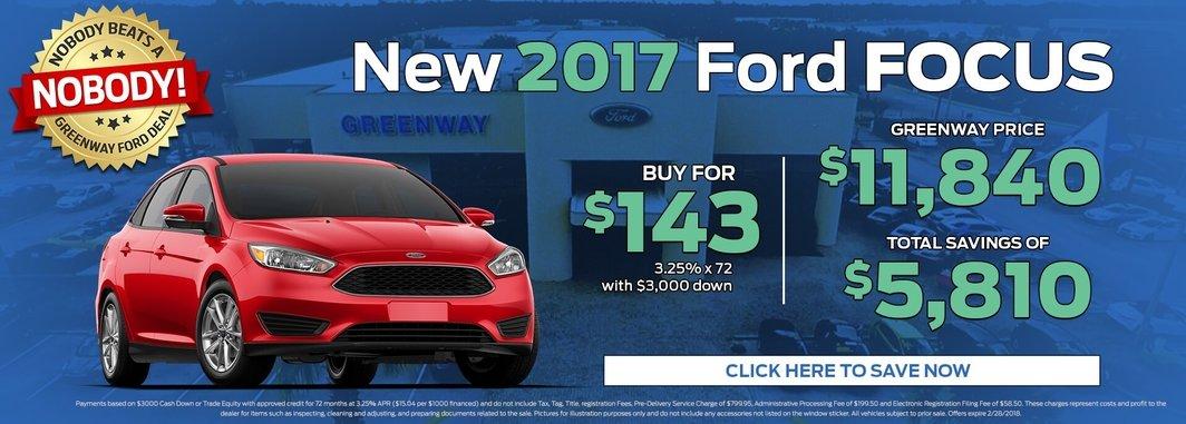2017 Ford Focus S Sedan for Sale in Orlandos