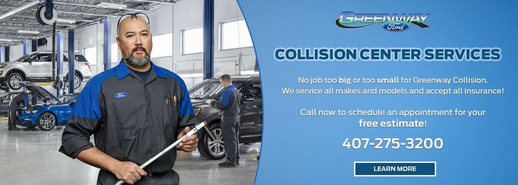 Greenway Ford Collision Center Services