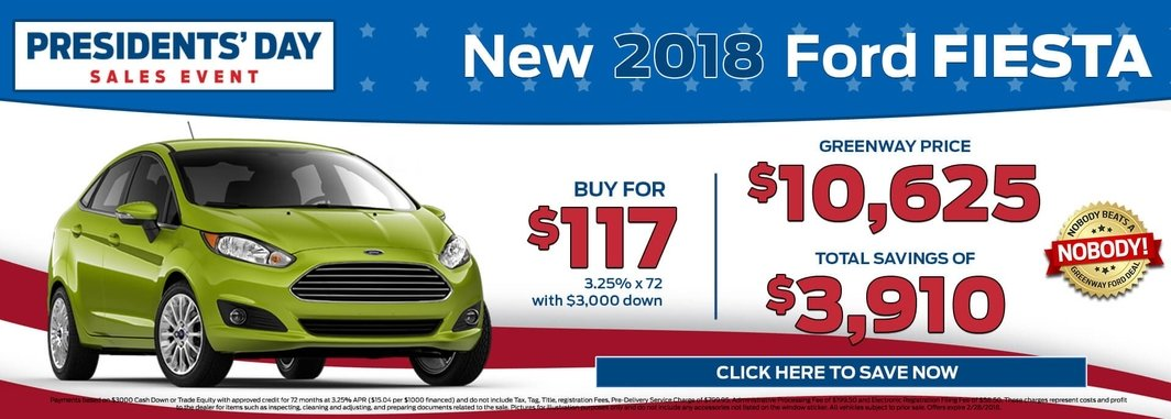 2018 Ford Fiesta for Sale