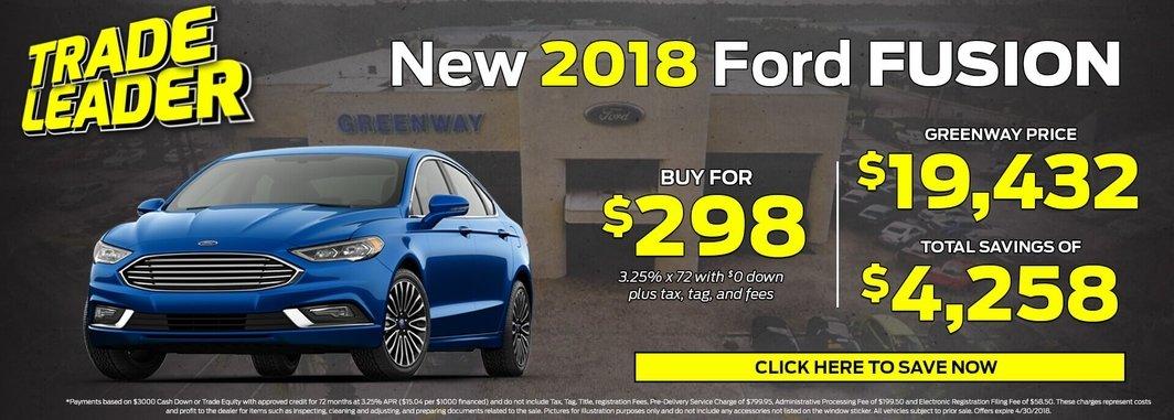 2018 Ford Fusion for Sale in Orlando FL