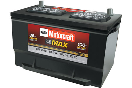 Coupon for Motorcraft® Tested Tough® Max Batteries Starting at $129.95 MSRP