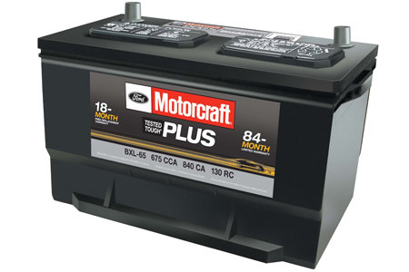 Coupon for Motorcraft® Tested Tough® Plus Batteries $99.95 MSRP