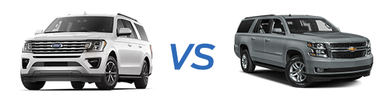 ford expedition vs chevy suburban comparison