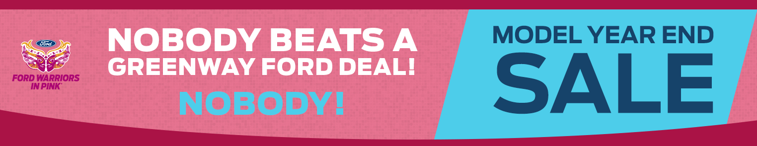 Nobody Beats a Greenway Ford Deal