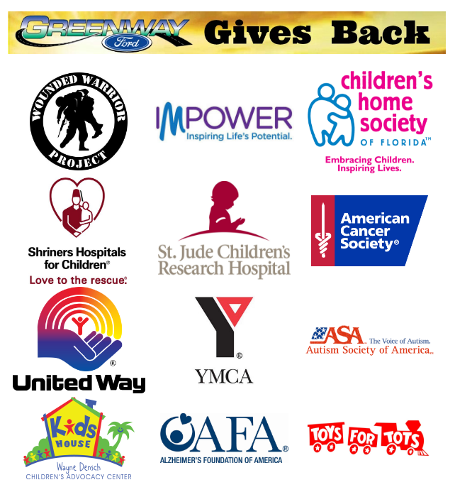 Some of the charities that our Orlando FL Ford dealership helps with