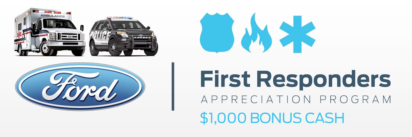First Responders Appreciation Program Greenway Ford
