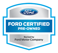 Ford certified pre-owned vehicle logo