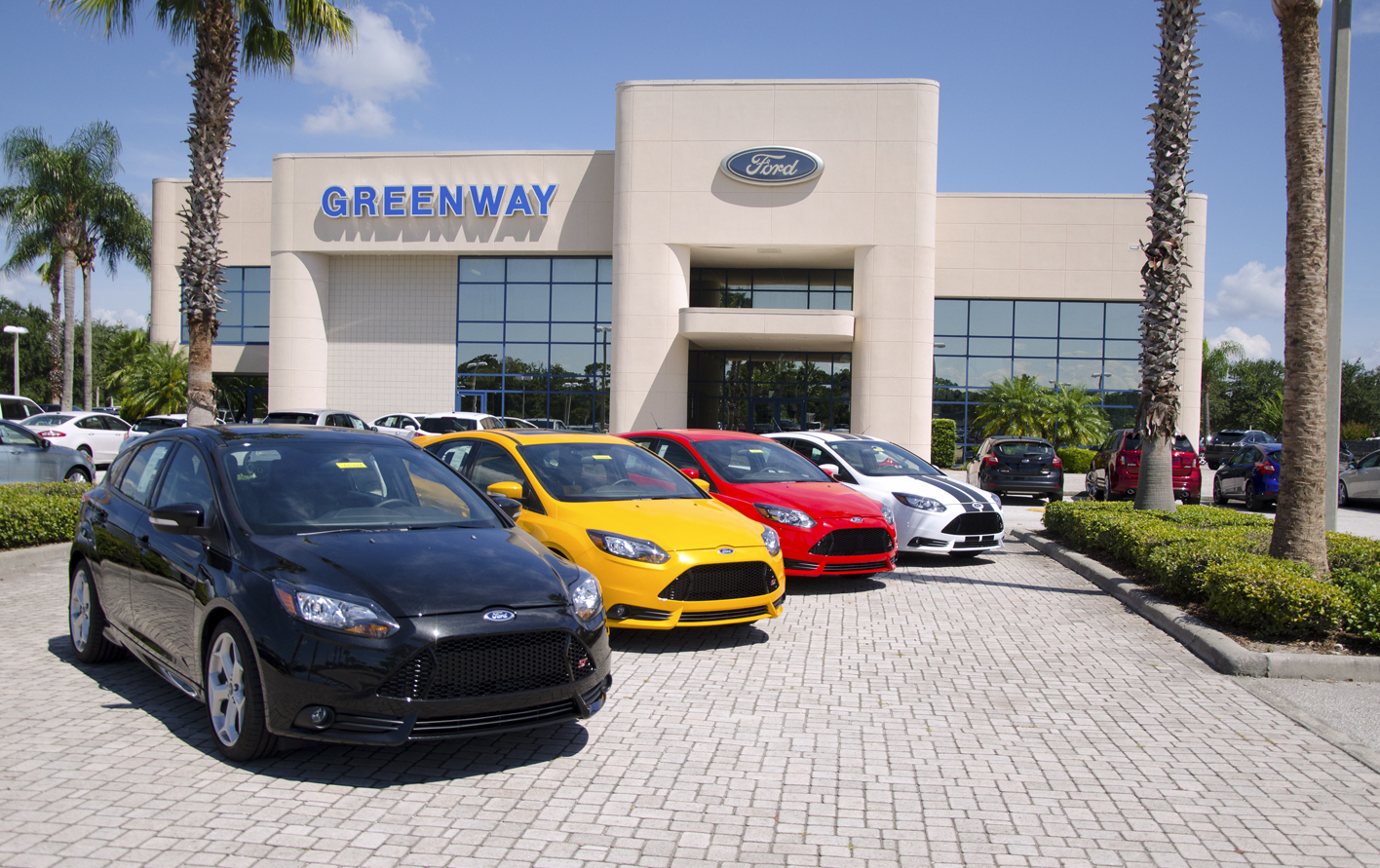 Lineup of Ford vehicles for sale for first time car buyers in Orlando