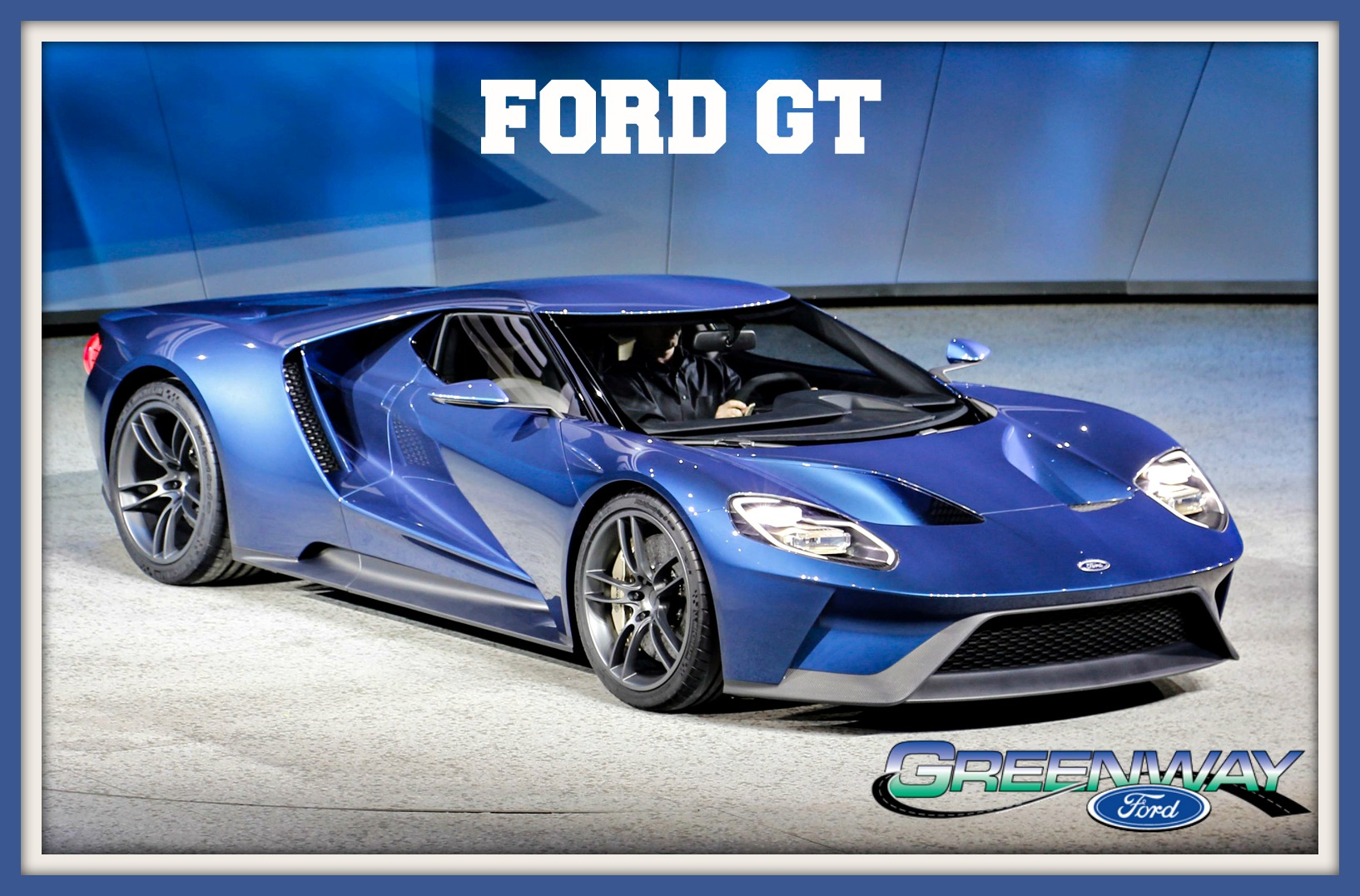 passenger side view of the Ford GT at our Orlando FL Ford dealership