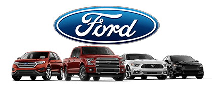 Some of the Ford vehicles for sale here at Greenway Ford