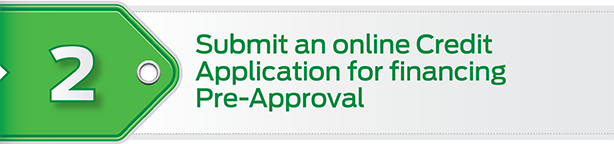 Step 2: submit your online credit application