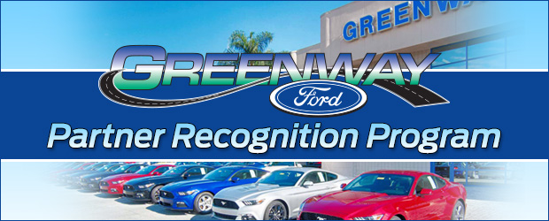 Greenway Ford Orlando partner recognition program details