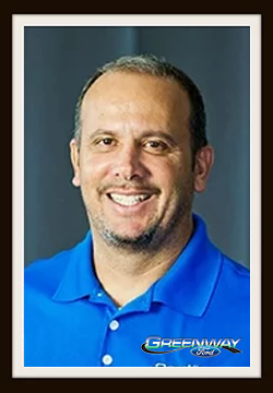 Pre-Owned Vehicle Director Alvaro Lezcano in Management at Greenway Ford