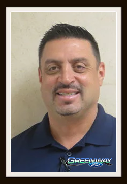 Finance Manager Robert Gomez in Finance at Greenway Ford