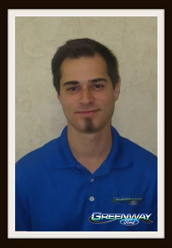 Sales Consultant Josh Mowrey in Internet Sales at Greenway Ford