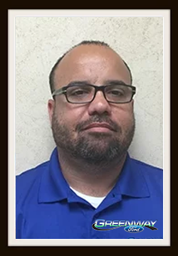 Internet Sales Consultant Miguel Ortiz in Internet Sales at Greenway Ford