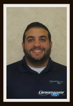 Internet Sales Consultant Hassan Abadi in Internet Sales at Greenway Ford