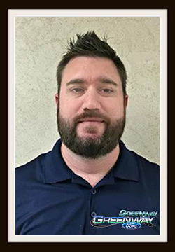 Business Administrator Adam Hurley in Internet Sales at Greenway Ford