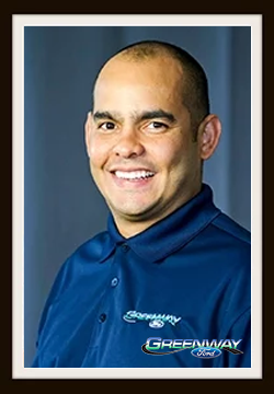Pre-Owned Vehicle Manager Ezequiel Alicea in Management at Greenway Ford