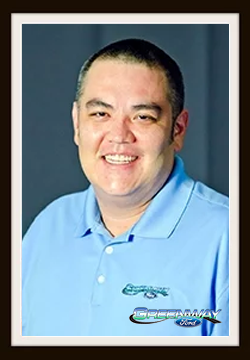 Finance Manager Robert Hoffman in Finance at Greenway Ford