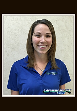 Internet Follow-Up Manager Allison Leach in Internet Sales at Greenway Ford
