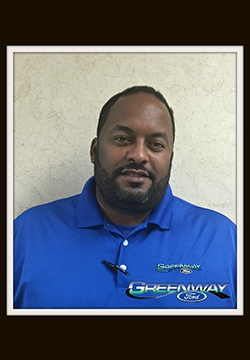 Internet Sales Consultant Dale Agard in Internet Sales at Greenway Ford