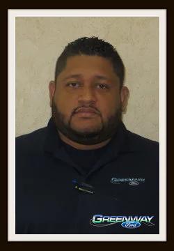 Internet Sales Consultant Carlos Tejeda in Internet Sales at Greenway Ford
