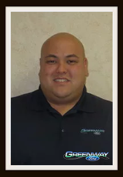 Finanace Manager Richard Decker in Finance at Greenway Ford