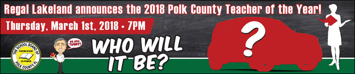 Who will be the next Polk Co. Teacher of the Year?