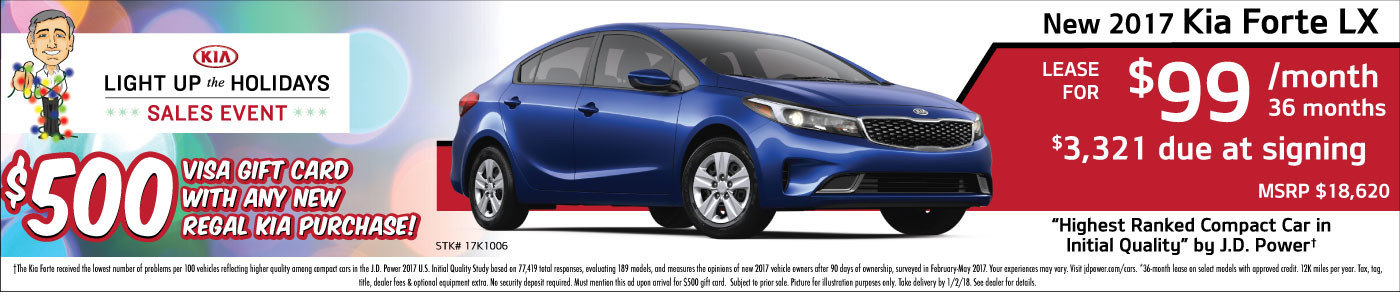 2017 Forte Lease