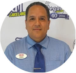 Kia Sales Specialist - Since 2015 Orlando Lopez in Product Experts at Regal Kia