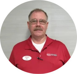 Courtesy Transport - Since 2014 Mike Millican in Service Center at Regal Kia