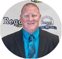 Business Manager Trent Turner in Financing at Regal Kia