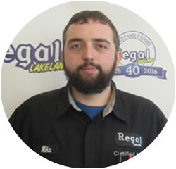 Certified Technician Mike Barske Jr in Service Technicians at Regal Honda