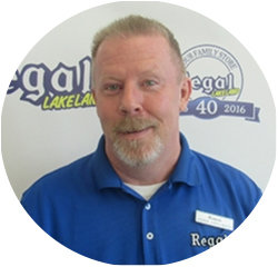 Honda Parts Specialist Ronnie Jarvis in Parts and Accessories at Regal Honda