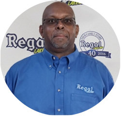 Service Advisor Ray  Taylor in Service Center at Regal Honda